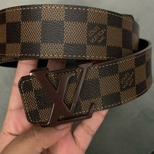 MENS LOUIS VUITTON BELT - fits waist size 34-38